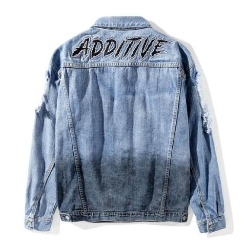 ADDITIVE DENIM JACKET - nonbinaryoutfitters