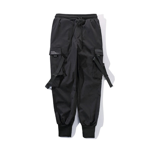 RIBBON BUCKLE JOGGERS