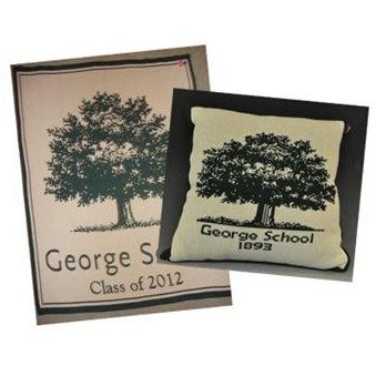 George School 2019 Keepsake Blanket and Pillow Set