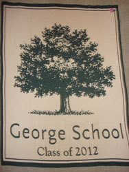 George School 2019 Keepsake Blanket