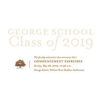 Commencement 2019 Announcements