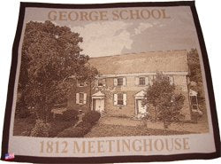 George School Meetinghouse Keepsake Blanket