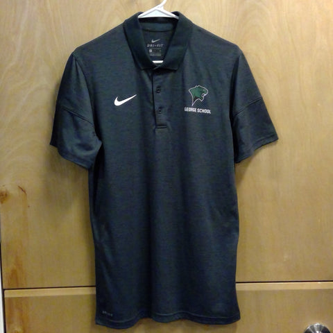Nike Dry Polo SS Anthracite Heather