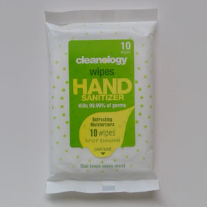 Cleanology Wipes Hand Sanitizer