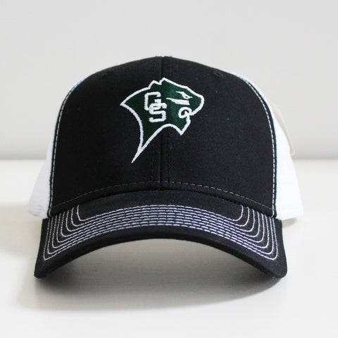 Mesh-Back Cougar Baseball Cap