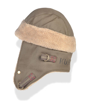 Scout Bomber Hat - Military - Side