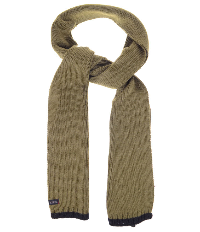 A. Kurtz Rebel Wool Scarf - Military