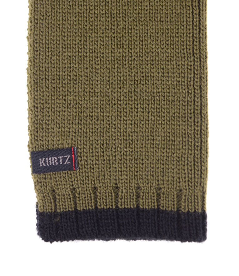 A. Kurtz Rebel Wool Scarf - Military - Logo