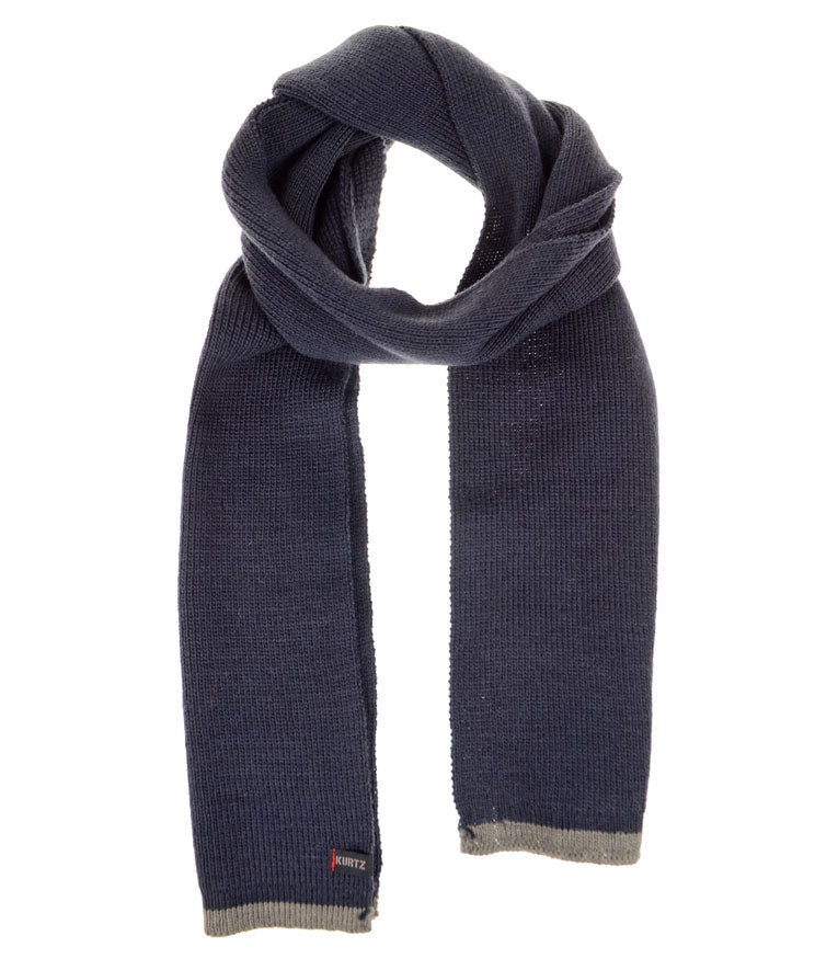 A. Kurtz Rebel Wool Scarf - Navy