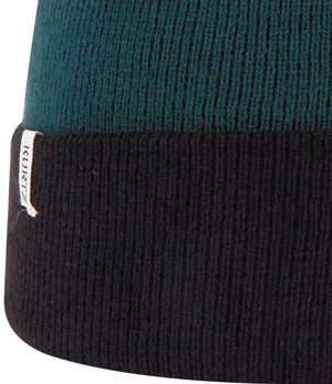 A. Kurtz Roll Up Beanie Watchcap - Black - Detail