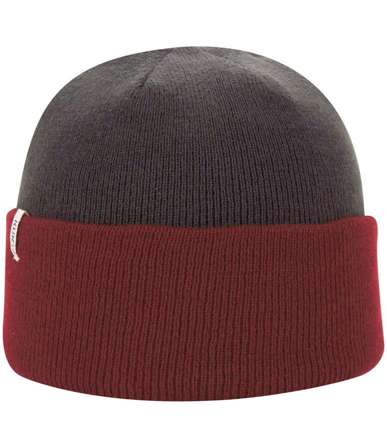 A. Kurtz Roll Up Beanie Watchcap - Dark Red