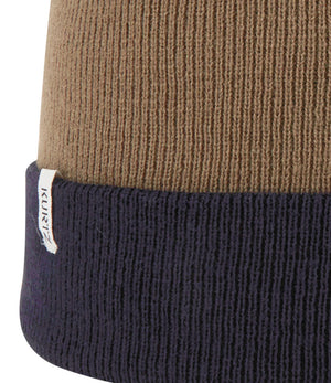 A. Kurtz Roll Up Beanie Watchcap - Navy - Detail