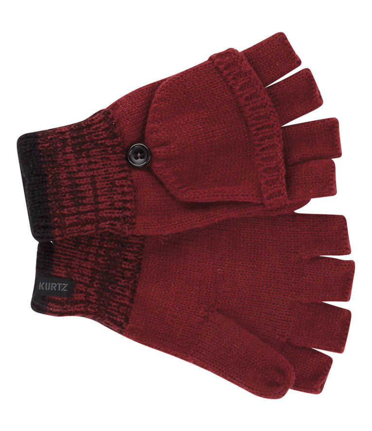 Flag Convertible Glove - Red