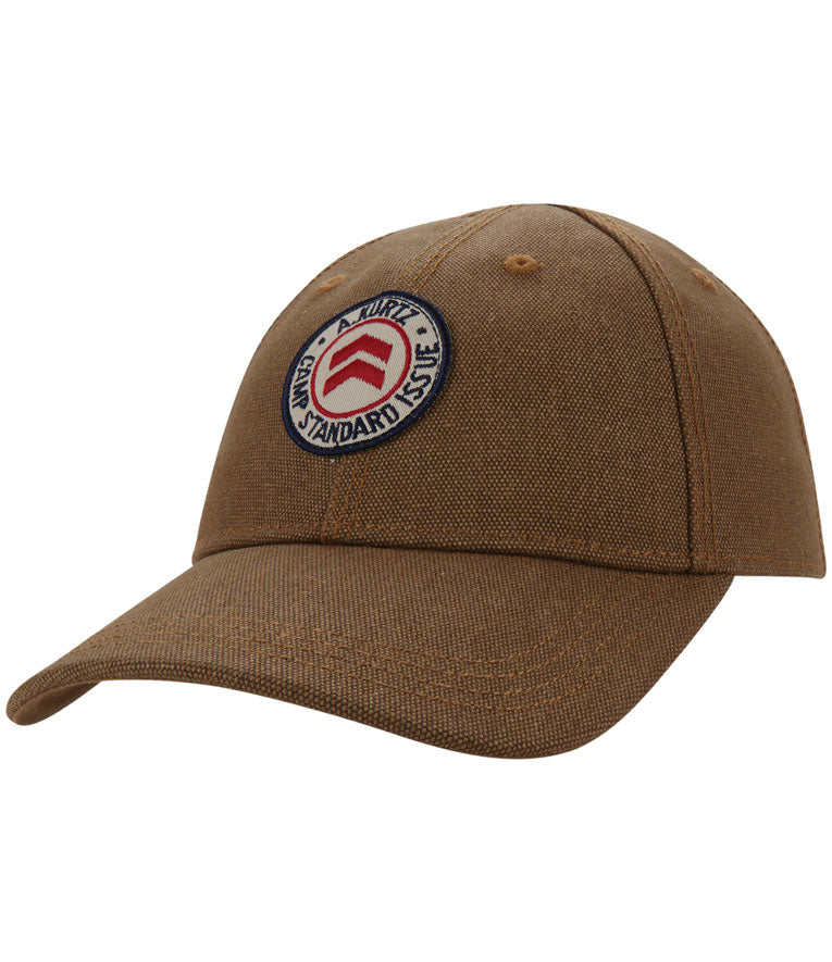 A. Kurtz Flat-Felled Seam Cap - Tan