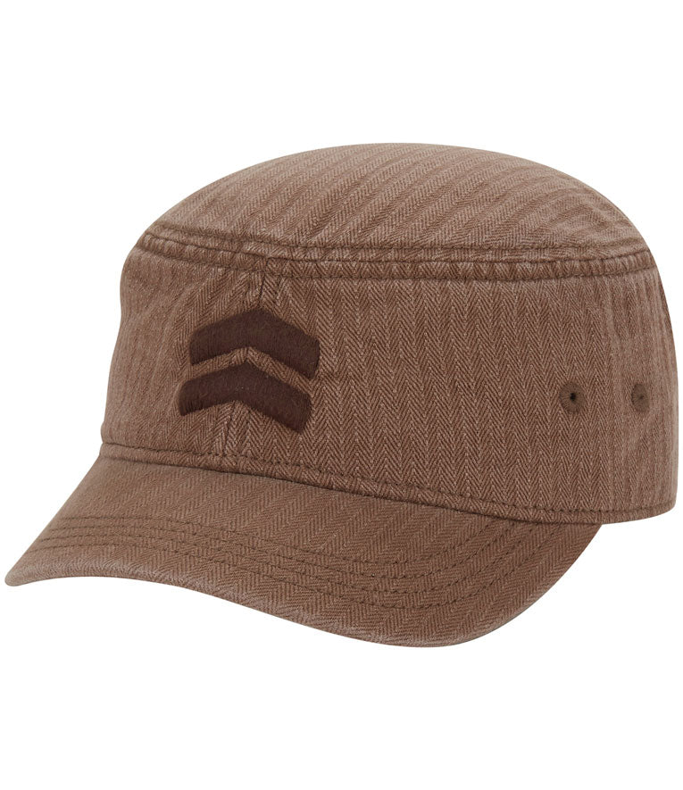 Akurtz Tonal Military Cap - Tan