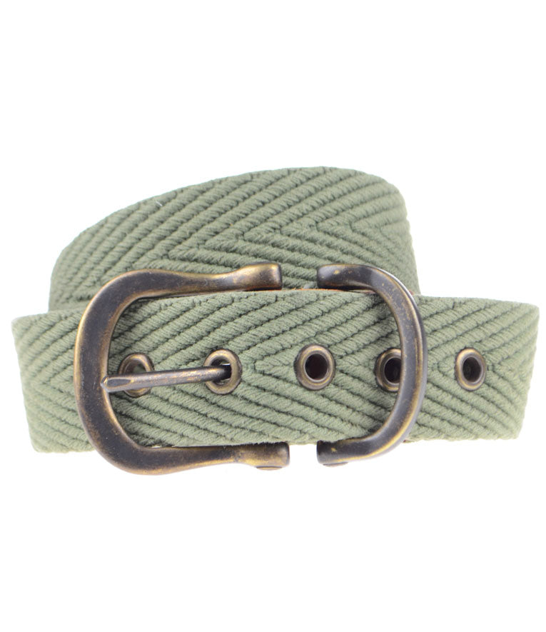 Caleb Cotton Webbed Belt