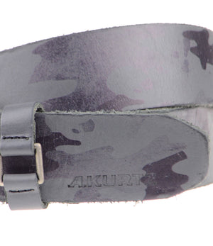 Hadden Leather Camo Belt