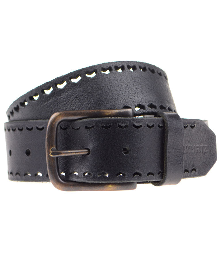 Baker Buffalo Leather Belt