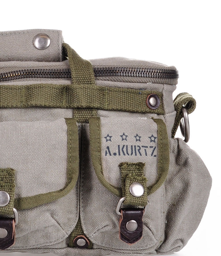A Kurtz Hatch Military Tactical Satchel - Logo