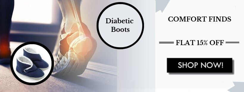 Get Your Comfort Back By Purchasing The Diabetic Boots
