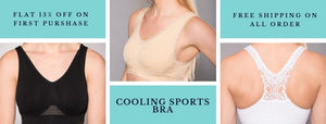 Get Acquainted With The Comfortable Cooling Sports Bra