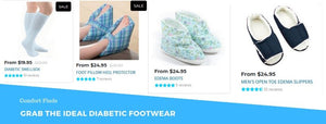 Grab the Ideal Diabetic Footwear