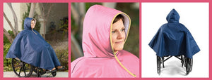 The Wheelchair Poncho: A Spring Essential