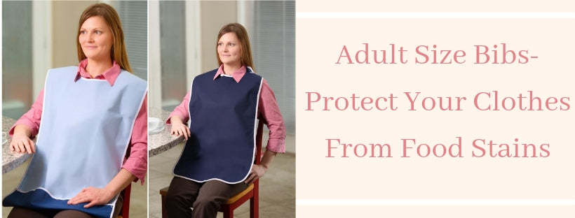 Adult Size Bibs- Protect Your Clothes From Food Stains