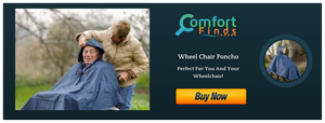Wheelchair Poncho- Perfect For You And Your Wheelchair!