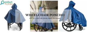 Wheelchair Poncho- Ideal Fit For Every Season