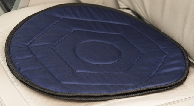 Swivel Seat Cushion (Polycotton Navy) - ComfortFinds