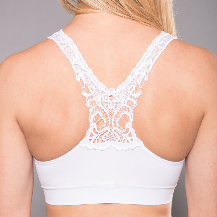 Seamless Pullover Butterfly Back Bra