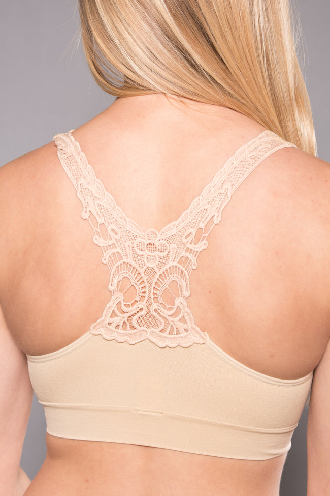 Seamless Pullover Butterfly Back Bra - ComfortFinds