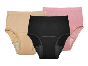Seamless Reusable Incontinence Panty