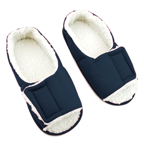 Men's Open Toe Edema Slippers