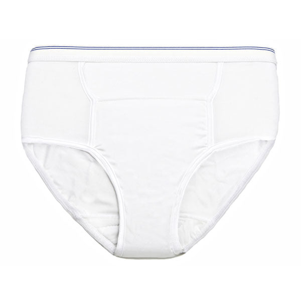 Men's Reusable Incontinence Brief (Assorted Colors 3 Pack)