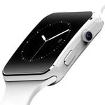 Square Face Touch Screen Smart Watch with Dial