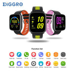 Multi-Colored Waterproof Smart Watch
