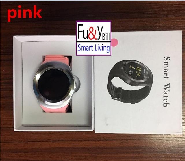 SIM Card Round Face Smart Watch