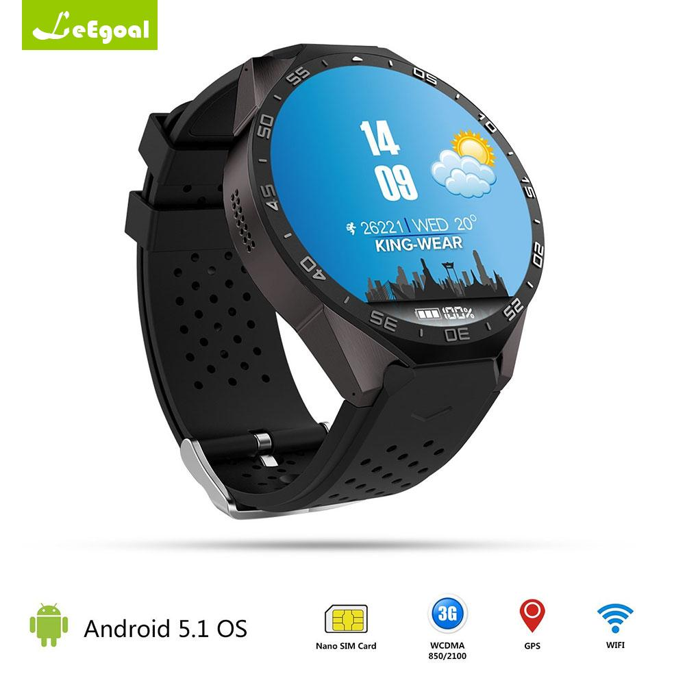 Round Face Bluetooth/WiFi Smart Watch