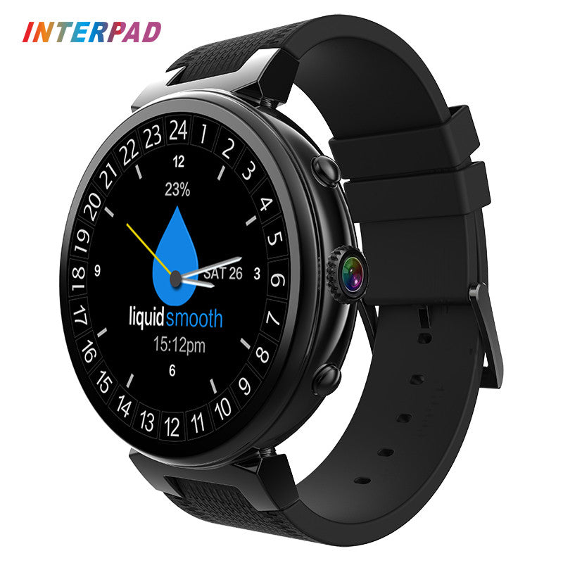 2017 Hot Interpad Original Smart Watch Android 5.1 MTK6580 Quad Core Smartwatch 1.3GHz 2GB 16GB Wristwatch Support 3G GPS WIFI