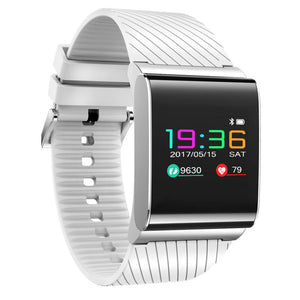 X9 Pro Smart Watch Colorful OLED Screen Fitness Tracker Smartwatch with Heart Rate Blood Pressure Monitor