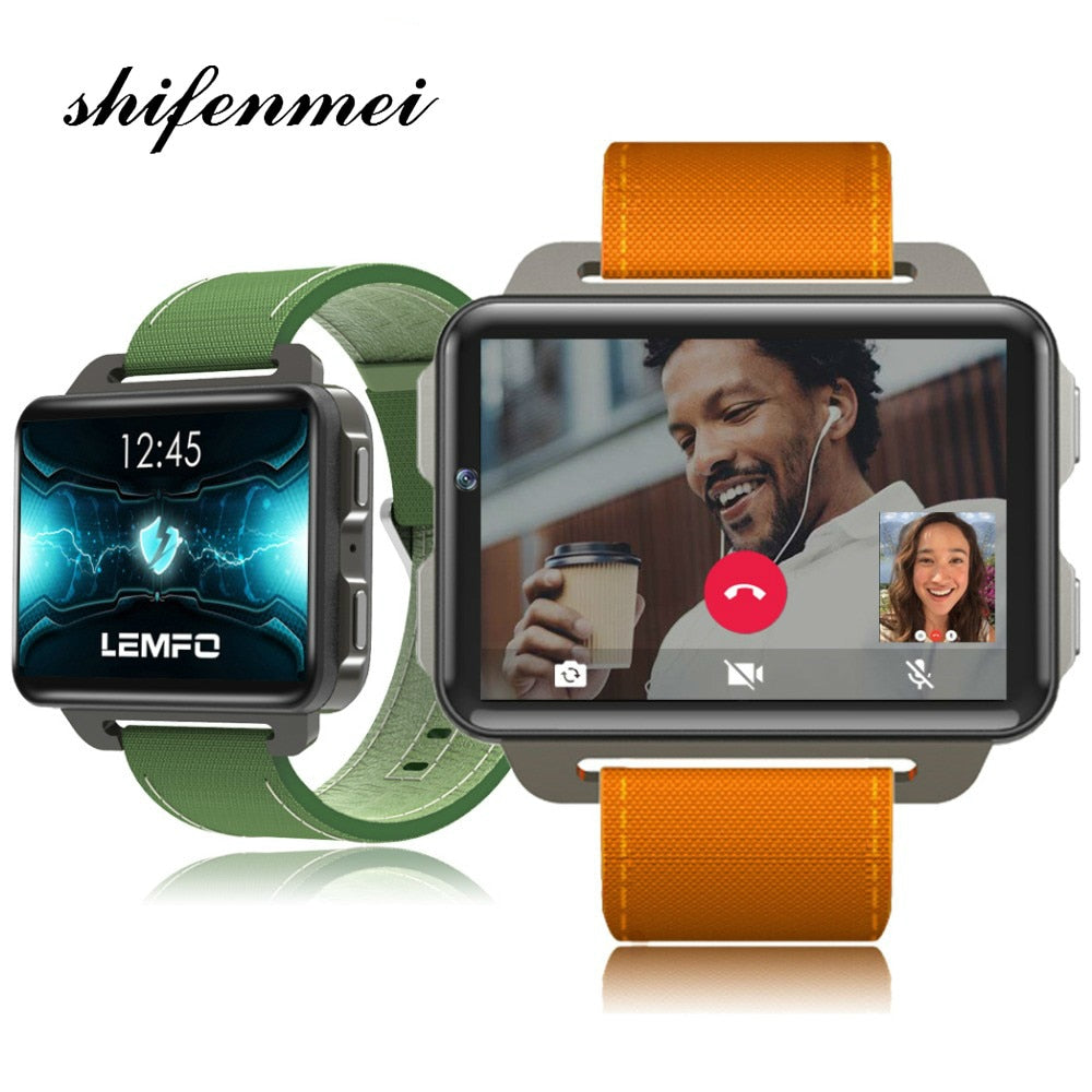 SmartWatch men 2018 New Arrival Smart Watch Android 5.1 Supper Big Screen 1200 Mah Lithium Battery 1GB + 16GB Wifi Take Video