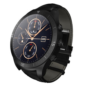 New Android 4.4 Smart Watch Bluetooth 4.0 Call Wifi Heart Rate Monitor Pedometer Phone Calls Message Push APP Install 4G Memory