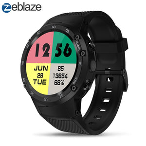Zeblaze THOR 4 Flagship 4G LTE GPS SmartWatch Android 7.0 MTK6737 Quad Core 1GB+16GB 5.0MP 580mAh 4G/3G/2G Data Call Watch Men