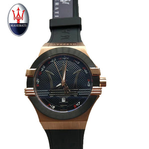 Vintage Design Maserati Watch Men's Top Brand Relogio Masculino 2018 New Men's Sports Clock Analog Quartz Watch