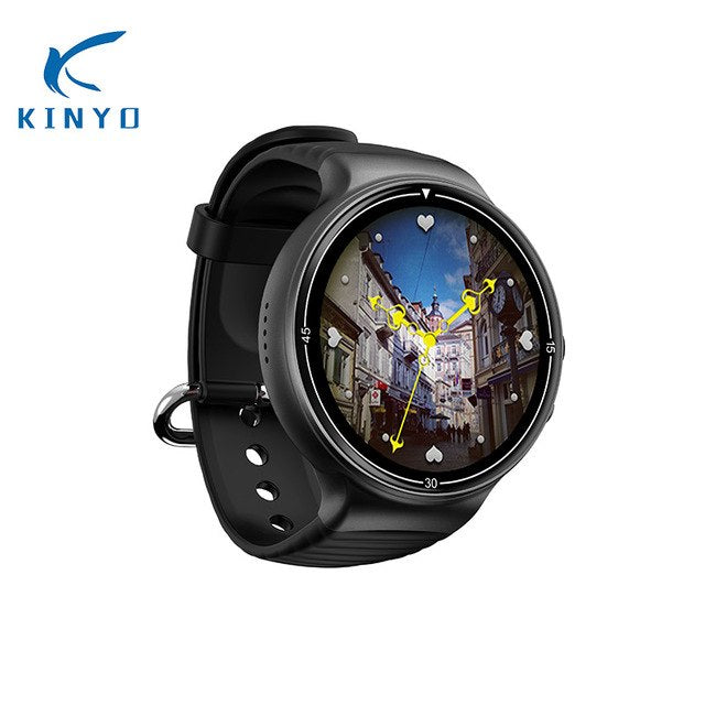 4G LTE 1G+16G 1.39'' 400*400 MTK6737 smart watch heart rate monitor smartwatch weather forecast 2MP HD camera sports wristwatch