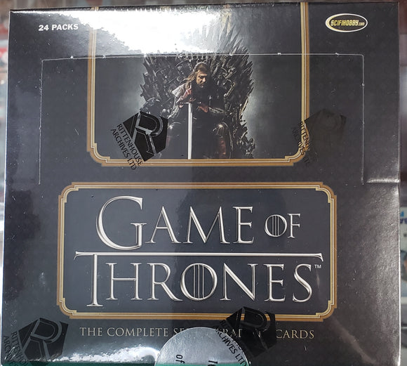Game of Thrones: The Complete Series Trading Cards - Box