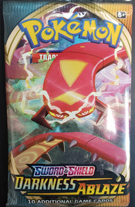 **1 PACK** Pokemon Sword & Shield Darkness Ablaze Booster PACK!!!!!