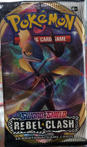 Pokemon Sword and Shield Rebel Clash PACK